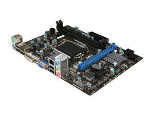 MSI H61M-P31 (G3) Micro ATX Intel Motherboard with UEFI BIOS