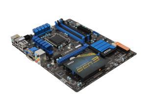 MSI Z77A-G43 ATX Intel Motherboard with UEFI BIOS