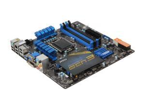 MSI Z77MA-G45 Micro ATX Intel Motherboard with UEFI BIOS
