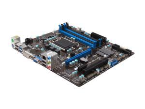 MSI B75MA-P45 Micro ATX Intel Motherboard with UEFI BIOS