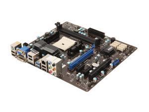 MSI FM2-A85XMA-E35 Micro ATX AMD Motherboard