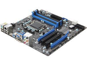 MSI B75MA-G43 Micro ATX Intel Motherboard with UEFI BIOS