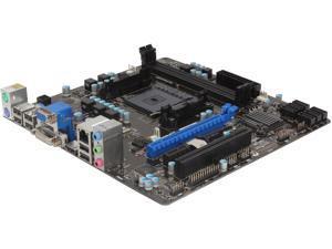 MSI A55M-E35 Micro ATX AMD Motherboard