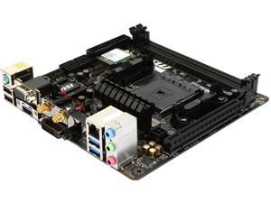 MSI A68HI AC FM2+ AMD A68H SATA 6Gb/s USB 3.0 HDMI Mini ITX AMD Motherboard