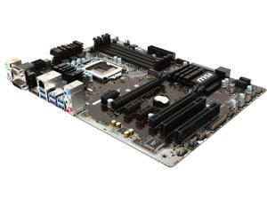 MSI Z170A PC MATE LGA 1151 Intel Z170 HDMI SATA 6Gb/s USB 3.1 ATX Intel Motherboard
