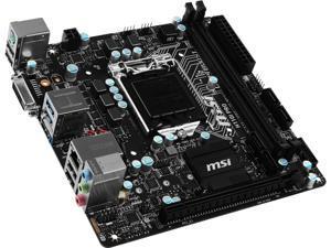 MB MSI | H110I PRO RTL Configurator