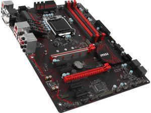 MSI Z270 GAMING PLUS LGA 1151 Intel Z270 SATA 6Gb/s USB 3.1 ATX Intel Motherboard