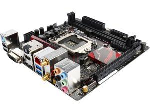 ASUS ROG B150I PRO GAMING/WIFI/AURA LGA 1151 Intel B150 HDMI SATA 6Gb/s USB 3.0 Mini ITX Intel Motherboard