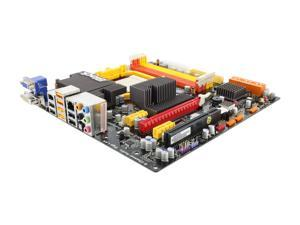 ECS Black Series A785GM-M Micro ATX AMD Motherboard