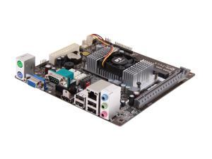 ECS NM70-I v1.0 Intel Celeron 1037U 1.80GHz Mini ITX Motherboard/CPU Combo