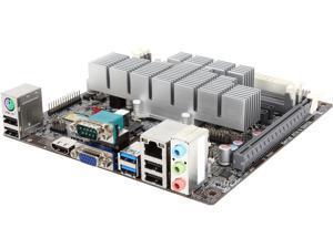 ECS KBN-I/2100 (V1.1) AMD E1-2100 Dual Core processor AMD Kabini (SOC) Mini ITX Motherboard/CPU/VGA Combo