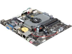 ECS NM70-TI (V1.0A) Intel Celeron 847/807 Thin Mini-ITX Motherboard/CPU/VGA Combo