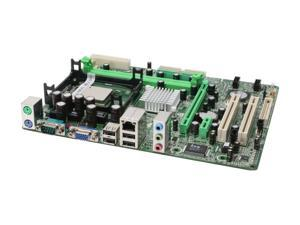 BIOSTAR P4M9M4COMB63 Micro ATX Intel Motherboard Includes Intel Celeron D315 processor and CPU cooler fan