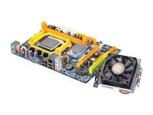 BIOSTAR COMBO6B22 AMD Sempron X2 2200 Micro ATX Motherboard/CPU Combo