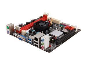 BIOSTAR A68I-350 Deluxe R2.0 AMD Fusion APU 350D Mini ITX Motherboard/CPU Combo