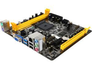 BIOSTAR AM1MH AM1 SATA 6Gb/s USB 3.0 HDMI Micro ATX AMD Motherboard