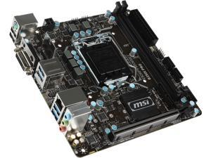 MSI B250I PRO LGA 1151 Intel B250 HDMI SATA 6Gb/s USB 3.1 Mini ITX Intel Motherboard