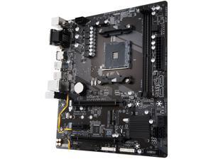 GIGABYTE GA-AB350M-HD3 (rev. 1.0) AM4 AMD B350 SATA 6Gb/s USB 3.1 HDMI Micro ATX AMD Motherboard
