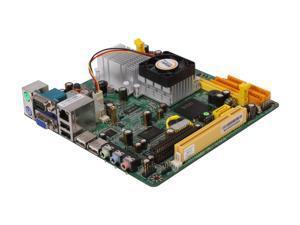 JetWay JNC92-330-LF INTEL Atom 330 Dual Core CPU  (45nm, FSB 533MHz, 1.6 GHz, 1 MB L2) Mini ITX Motherboard/CPU Combo