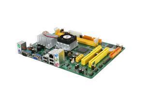 JetWay JATOM-GM1-230-LF Intel Atom 230 Flex ATX Motherboard/CPU Combo