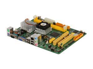 JetWay JATOM-GM1-330-LF Intel Atom 330 Flex ATX Motherboard/CPU Combo