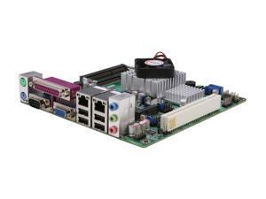 JetWay JNC9MGL-525 Intel Atom D525 (1.8GHz, Dual-Core) Mini ITX Motherboard/CPU Combo