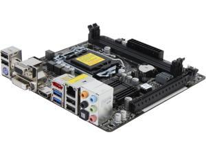 ASRock H81M-ITX LGA 1150 Intel H81 HDMI SATA 6Gb/s USB 3.0 Mini ITX Intel Motherboard