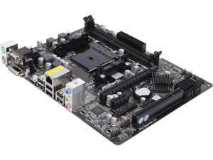 ASRock FM2A55M-HD+ Micro ATX AMD Motherboard