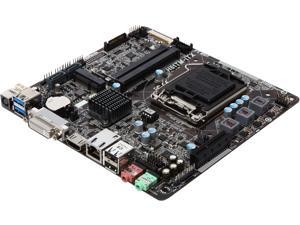 ASRock H81TM-ITX R2.0 LGA 1150 Intel H81 HDMI SATA 6Gb/s USB 3.0 Mini ITX Intel Motherboard