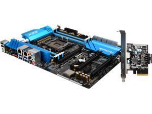 ASRock X99 Extreme6/3.1 LGA 2011-v3 Intel X99 SATA 6Gb/s USB 3.1 USB 3.0 ATX Intel Motherboard