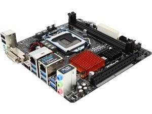 ASRock H170M-ITX/DL LGA 1151 Intel H170 HDMI SATA 6Gb/s USB 3.0 Mini ITX Intel Motherboard