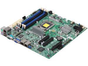 SUPERMICRO MBD-X9SCL-F-O LGA 1155 Intel C202 Micro ATX Intel Xeon E3 Server Motherboard