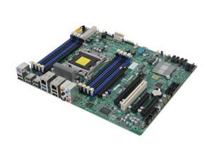 SUPERMICRO X9SRA Single Socket R (LGA 2011) E5 ATX Workstation/Server Motherboard DDR3 1600 12xUSB, 2x PCI-E 3.0 x16