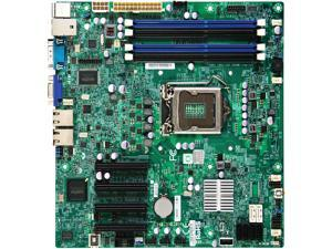 Supermicro X9SCM-F Server Motherboard - Intel C204 Chipset - Socket H2 LGA-1155 - Bulk Pack