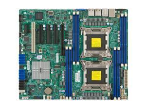 Supermicro X9DRL-iF Server Motherboard - Intel C606 Chipset - Socket R LGA-2011 - Bulk Pack