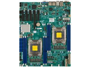 SUPERMICRO MBD-X9DRD-IF-B Extended ATX Motherboard (Bulk Pack) Dual LGA 2011 Intel C602 DDR3 1866