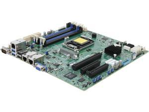 SUPERMICRO MBD-X10SLM+-F-O uATX Server Motherboard LGA 1150 Intel C224 DDR3 1600