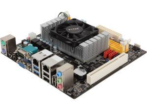 ZOTAC NM70ITX-C-E Intel Processor (dual-core, 1.5 GHz) Intel NM70 Mini ITX Motherboard/CPU/VGA Combo