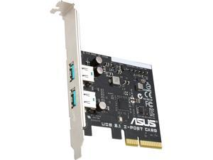 ASUS Model USB 3.1 TYPE-A CARD USB 3.1 Dual Type-A PCIe Card