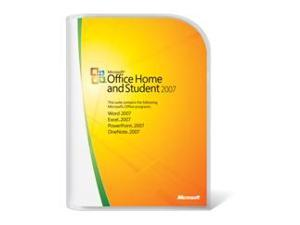 Microsoft Microsoft® Office Home and Student 2007