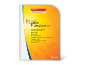 Microsoft Microsoft® Office Professional 2007 Upgrade
