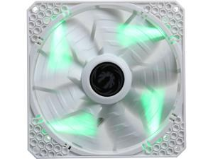 BitFenix Spectre PRO ALL WHITE Green LED 140mm Case Fan
