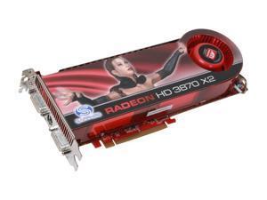 SAPPHIRE Radeon HD 3870 X2 100221SR Video Card
