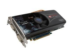 SAPPHIRE TOXIC Radeon HD 4870 1GB 256-bit GDDR5 PCI Express 2.0 x16 HDCP Ready CrossFire Supported Video Card