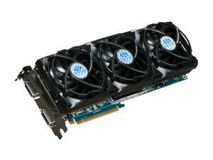 SAPPHIRE Toxic Radeon HD 5970 DirectX 11 100280-4GTXSR 4GB 512 (256 x 2)-Bit GDDR5 PCI Express 2.1 x16 HDCP Ready CrossFireX Support Video Card w/ Eyefinity