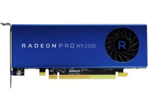 AMD Radeon Pro WX 2100 100-506001 PCI-Express x16 (x8 Electrical) Half Height Workstation Video Card