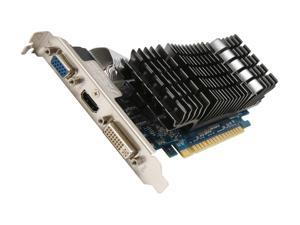 ASUS GeForce GT 520 (Fermi) ENGT520 Silent/DI/1GD3(LP) Video Card