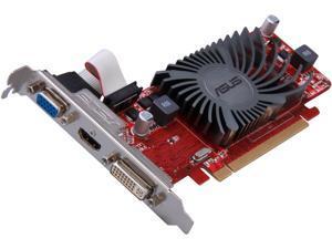ASUS Radeon HD 6450 DirectX 11 EAH6450 Silent/DI/1GD3(LP) 1GB 64-Bit DDR3 PCI Express 2.1 x16 HDCP Ready Low Profile Ready Video Card