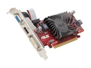 ASUS EAH5450 SL/DI/512MD3/MG(LP) Radeon HD 5450 512MB 32-Bit DDR3 PCI Express 2.1 x16 HDCP Ready Low Profile Ready Video ...