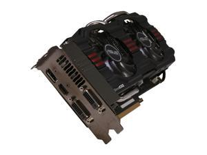 ASUS GeForce GTX 670 DirectX 11 GTX670-DC2T-2GD5 2GB 256-Bit GDDR5 PCI Express 3.0 x16 HDCP Ready SLI Support Video Card